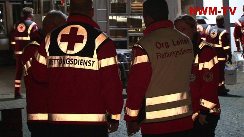 Organisatorischer Leiter Rettungsdienst an einer Einsatzstelle